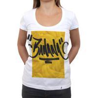 Banana Tag - Camiseta Clássica Feminina