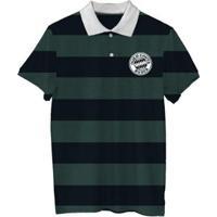 ... Camiseta Polo Quem Chuta Busca - Masculino-Preto+Verde 1759d71856b5d