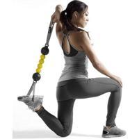 Massageador Flexível Sklz Accuroller - Unissex-Amarelo+Preto