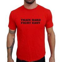 Camiseta Mma Shop Treine Duro Lute Fácil - Masculino