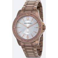 Kit Relógio Feminino Mondaine 53601Lpmvre3Ka 5Atm + Pulseira