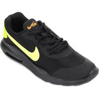 Tênis Infantil Nike Air Max Oketo Masculino - Masculino-Preto+Verde Limão