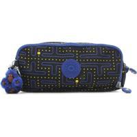 89d491853 Dafiti; Estojo Kipling Pouches / Cases Gitroy Monkey Fu Azul Marinho