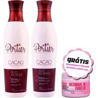 Portier Progressiva Kit Cacao Shampoo E Máscara 1 - Unissex-Incolor