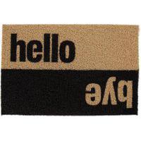 Capacho Super Print Hello Bye 40 Cm X 60 Cm - Home Style