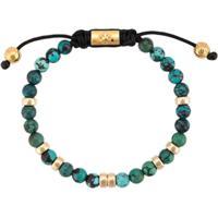 Nialaya Jewelry Bali Beaded Bracelet - Azul