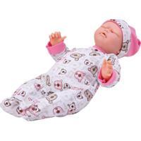 Boneca Interativa Bebê Carinhas Movimento Facial - Novabrink