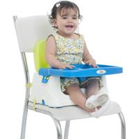 Cadeira Cadeirinha Alimentação Bebê Portátil Baby Style Verde