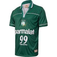 Camisa Palmeiras Retrô Gol Oséas Libertadores 99 Masculina - Masculino