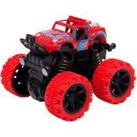 Mini Carrinho Caminhonete Com Fricçáo Manobras De 360° Graus – Unik Toys Vermelho