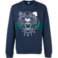Kenzo Moletom 'Tiger' - Azul