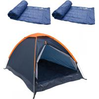 Barraca Camping Nautika Panda 6 Pessoas 2 Colchonetes Camp Mat Leve E Resistente