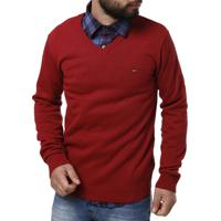 Suéter Merlin Masculino - Masculino-Vermelho