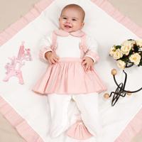 Saída De Maternidade Fofinho Delicado Luxo Suellen Rosa