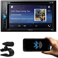 Dvd Player Automotivo Pioneer Avh-A208Bt 2 Din 6.2 Pol Bluetooth Android Ios Usb Aux Mp3 Rádio Am Fm