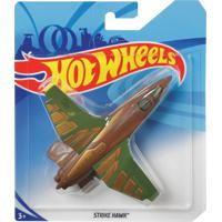 Avião Hot Wheels Skybusters Strike Hawk - Mattel