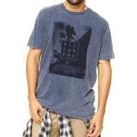 Camiseta Daggers Billabong Masculina - Masculino-Azul