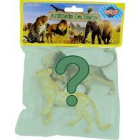 Figuras Miniaturas Bichos - Animais Da Selva - Sortidos - Toyng - Unissex-Incolor