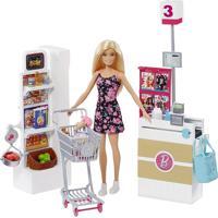 Boneca Barbie Supermercado Unica