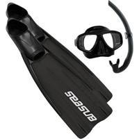 Kit Nadadeira+ Máscara +Snorkel Seasub - Unissex