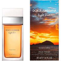 Light Blue Sunset In Salina De Dolce&Gabbana Eau De Toilette Feminino 100 Ml