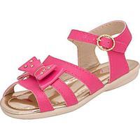 Sandália Infantil Plis Calçados Afago Feminina - Feminino-Pink