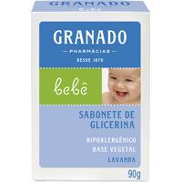 Sabonete De Glicerina Granado Infantil Bebê Lavanda 90G