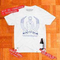 Kit El Cabriton + Titobier - Camiseta Basicona Com Abridor De Garrafa Unissex