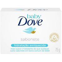 Sabonete Em Barra Dove Baby Hidratação Enriquecida Com 75G Baby Dove 75G