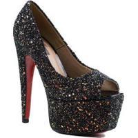 Sapato Feminino Zariff Peep Toe
