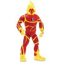 Figura Articulada 30 Cm - Ben 10 - Heatblast - Sunny - Masculino-Incolor