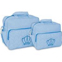 c6e67e2e8f Dafiti  Kit Bolsa Maternidade Mave Azul Claro
