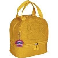 Lancheira Infantil Sestini Grande Paul Frank 20T03 - Unissex-Amarelo