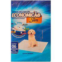 Tapete Higiênico Para Cães Economicão Slim 6 Unidades