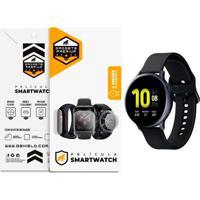 Película De Nano Gel Dupla Gorila Shield Para Samsung Watch Active 2 44Mm