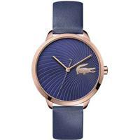 Relógio Lacoste Feminino Couro Azul - 2001058