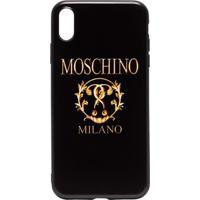 Moschino Capa Para Iphone Xs - Preto