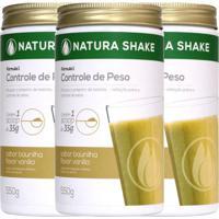 Kit Natura Shake Sabor Baunilha - Nutrigold - 1650G