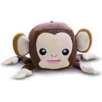 Esponja De Banho Soapsox Macaco Marrom