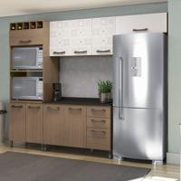 Cozinha Compacta Sense I Nature E Azulejo