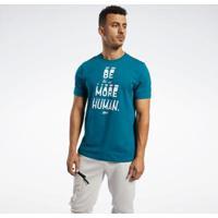 Camiseta Reebokgraphic Series Be More Human Masculina - Masculino