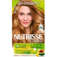 Tintura Garnier Nutrisse Kit Creme Cor 73 Avelã Louro Natural Dourado