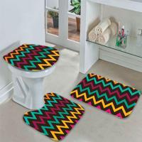 Jogo Tapetes Para Banheiro Floral Desk - Único