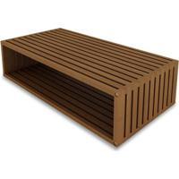 Modulo Dominoes 90X22 Cor Stain Jatoba - 23227 Sun House