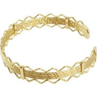 Bracelete Tudo Joias Feminino Folheado A Ouro 18K - Feminino-Dourado