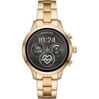 Smartwatch Michael Kors Runway Feminino - Feminino-Dourado
