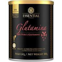 Glutamina Essential Nutrition 300G - Unissex