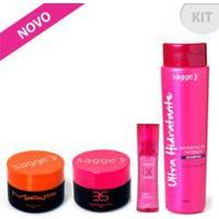 Kit Shampoo Ultra Hidratante , Máscara 3S, Máscara Map E Oc - Oil Complex - Sagge