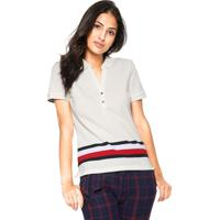 Camisa Polo Tommy Hilfiger Teona Bege