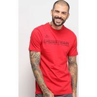 Camiseta Kappa Crosstrain Masculina - Masculino